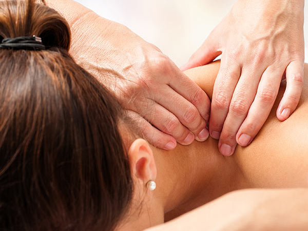 Photo of woman getting a massage