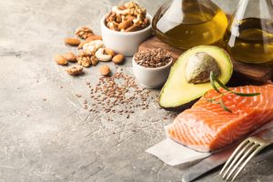 photo of Healthy fats in nutrition.
